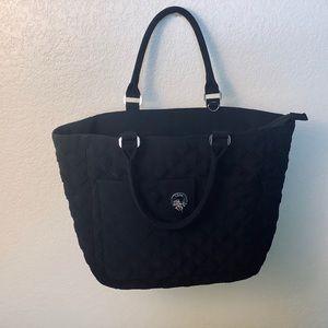 Vera Bradley Solid Black Tote Bag